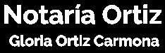 NOTARIA GLORIA ORTIZ CARMONA